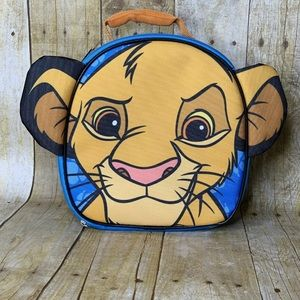 Lion King Simba Insulated School Lunch Box Bag